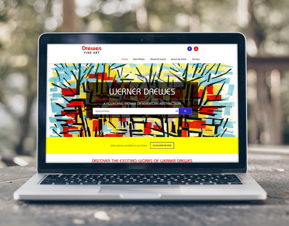 Drewes Fine Art Website