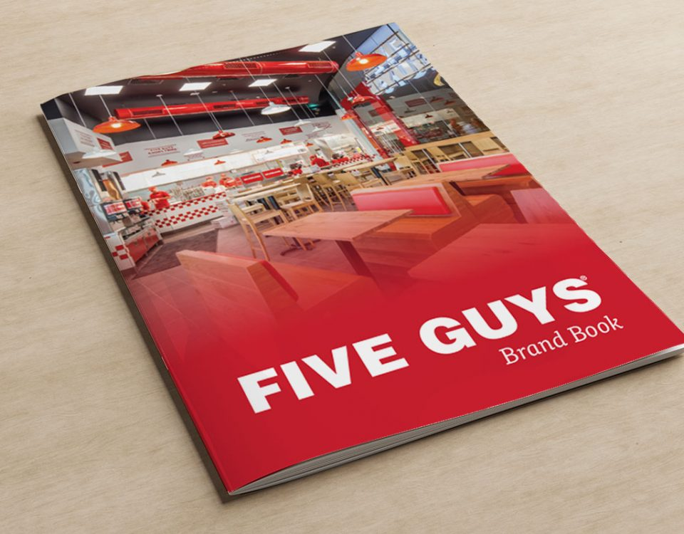 Five Guys Brand Book