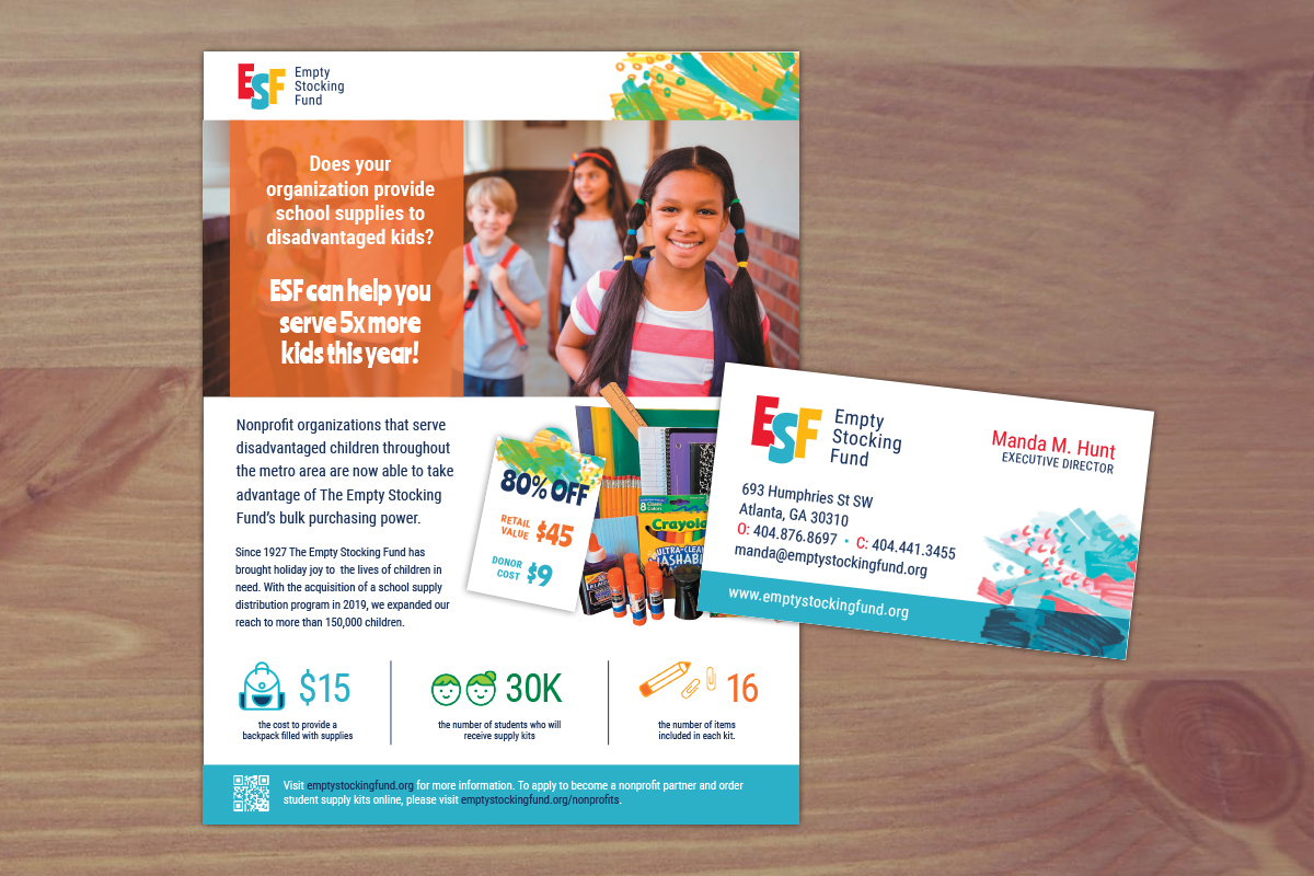 ESF Flyer and Cards